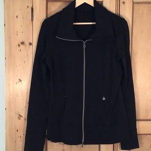Lululemon black zippered jacket